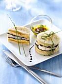Artischockenböden mit Foie Gras, Jakobsmuscheln und Trüffel