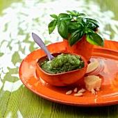 Bowl of pesto