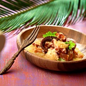 Octopus and coconut milk curry,Madagascar
