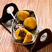 Express duck croquettes