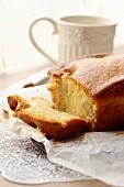 Moist pear cake