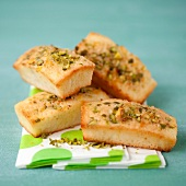 Lemon-pistachio mini Financiers