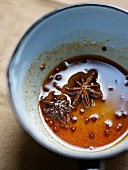 Spicy honey,citrus fruit juice,star anise,cinnamon and Sechuan pepper syrup