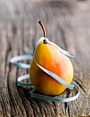 Pear and ribbon