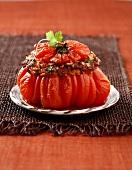 Stuffed oxtail tomato