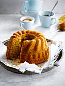 Kouglof-style vanilla-flavored carrot cake