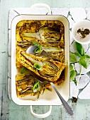 Artichoke omelette