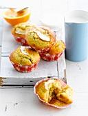 Apple-raisin muffins