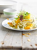 Fennel, orange and almond salad