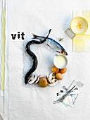 Symbolbild für Vitamin D aus Lebensmitteln