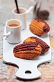 Choco-coffee Madeleines