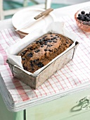 Bilberry loaf cake