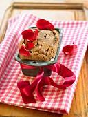 Rose water loaf cake