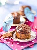 Fluffiges Schokoküchlein aus Poulin-Pralinoise-Schokolade