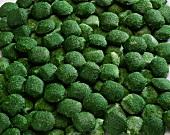 Frozen spinach balls
