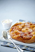 Apple tatin tart