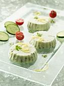 Cucumber mousse
