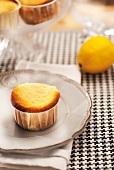Lemon curd muffins