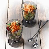 Raw vegetable Verrines
