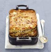 Vegetarian Fromage frais lasagnes