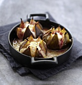 Roasted figs with Fromage frais
