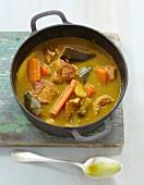 Colombo de veau (Traditionelles Kalbfleischcurry, französiche Antillen)