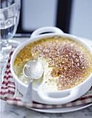 Honey and orange Crème brûlée