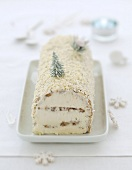 White log cake