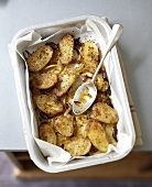 Cajun-style new potatoes with onions and spices
