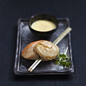 Scallop Yakitoris with Japanese sauce