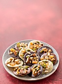 Dried and candied fruit Mendiants