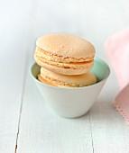 Macarons mit Nugat