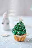 Weihnachtliche Cup Cakes