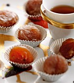 Candied chestnuts for tea
