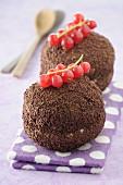 Merveilleux chocolat-meringue (Baiser-Schokoladen-Törtchen, Frankreich)