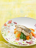 Grouper with vegetables