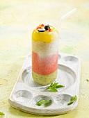 Bayadère fruit sorbet dessert