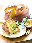 Lemon and olive oil cake