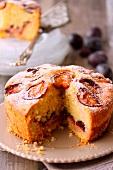 Soft fig cake