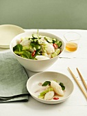 Thai-style squid and cucumber salad
