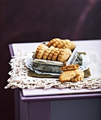 Hazelnut Palets Bretons cookies