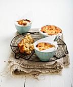 Gluten-free rasin brioche buns