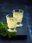 Apple, celery and ginger juice