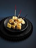 Diced tortilla bites
