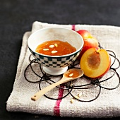Brugnon and pine nut jam