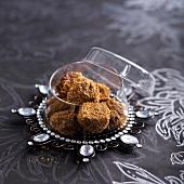 Speculos ginger biascuit truffles