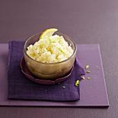 Fenchelpüree mit Knoblauch und Zitrone
