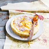 Ricotta and orange pie