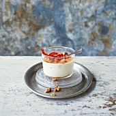 Red pepper and walnut yoghurt