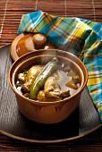 Colombo de volaille (Geflügel-Curry mit Colombo-Gewürz, Französische Antillen)
